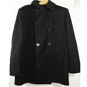 Sterlingwear Naval Black Woo Military Coat Sz 42R